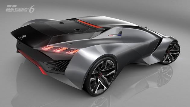 Peugeot Vision GT-Gran Turismo-rear