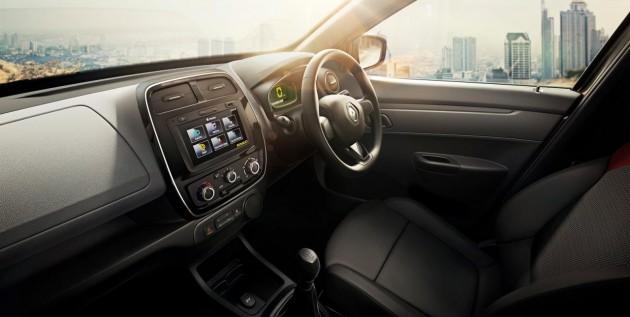 Renault KWID-interior