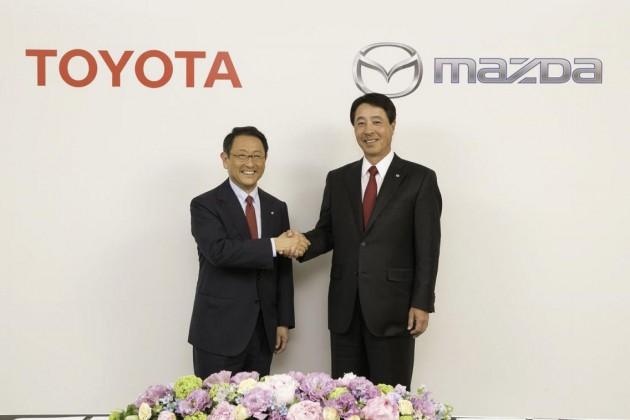 Toyota and Mazda agreement