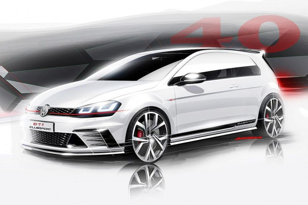 Volkswagen Golf GTI Clubsport concept-preview