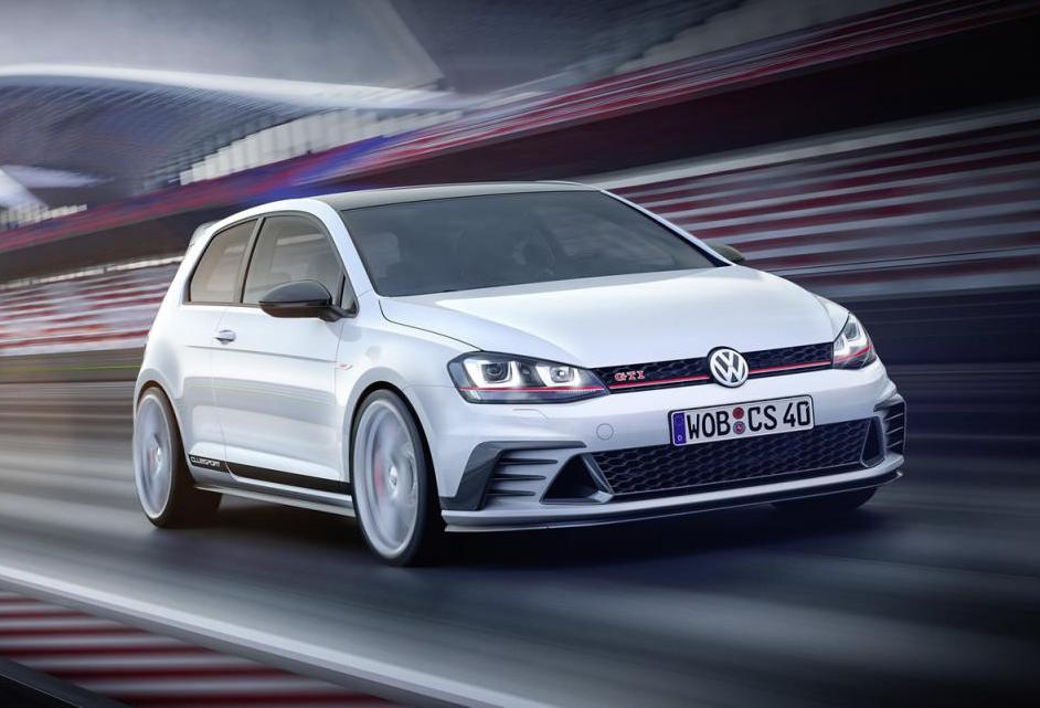 vw golf gti clubsport concept revealed to go on sale 2016 performancedrive. Black Bedroom Furniture Sets. Home Design Ideas