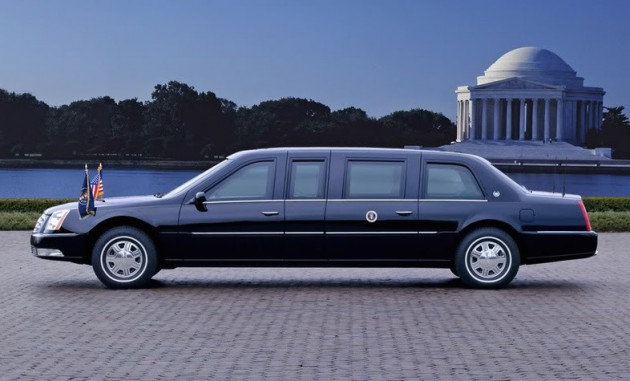 2006 Cadillac DTS Presidential Limousine. X06SV_CA001