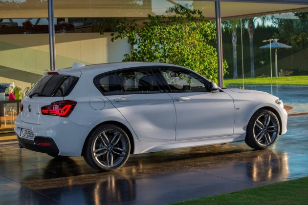 2015 BMW 1 Series LCI-rear
