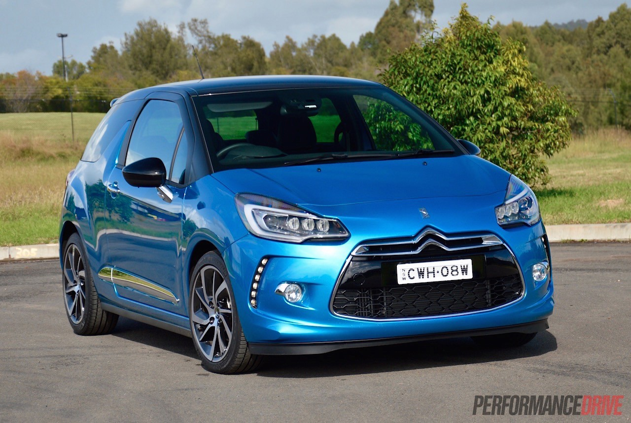 2015 citroen ds 3 dsport review video performancedrive. Black Bedroom Furniture Sets. Home Design Ideas