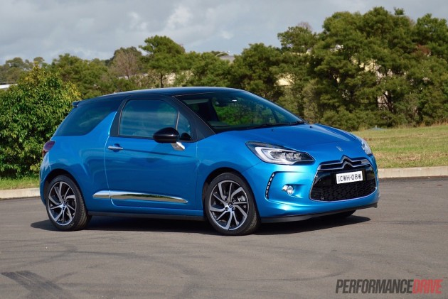 2015 Citroen DS3 DSport-blue