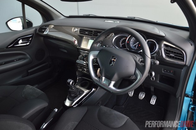 2015 Citroen DS3 DSport-interior