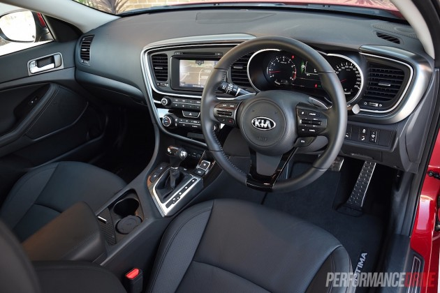 2015 Kia Optima Platinum-interior