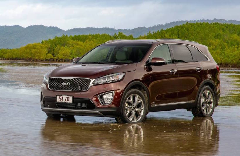2015 kia sorento on sale in australia from 40 990 performancedrive. Black Bedroom Furniture Sets. Home Design Ideas