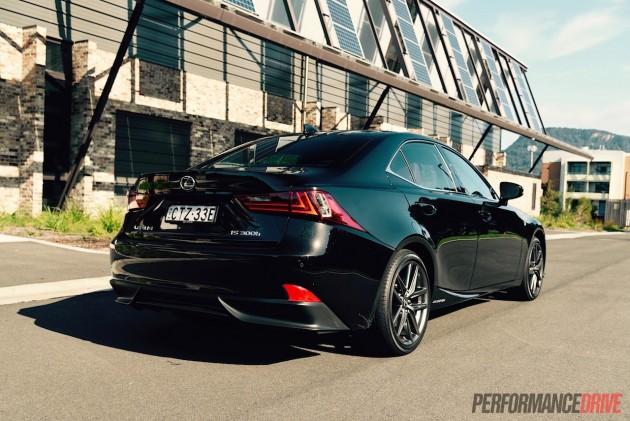 2015 Lexus IS300h F Sport-rear