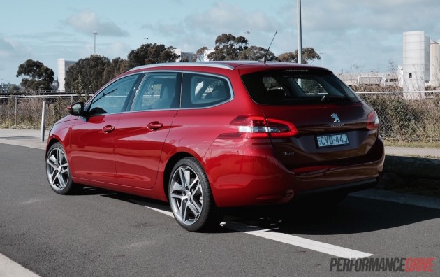 2015 Peugeot 308 Allure Touring-rear
