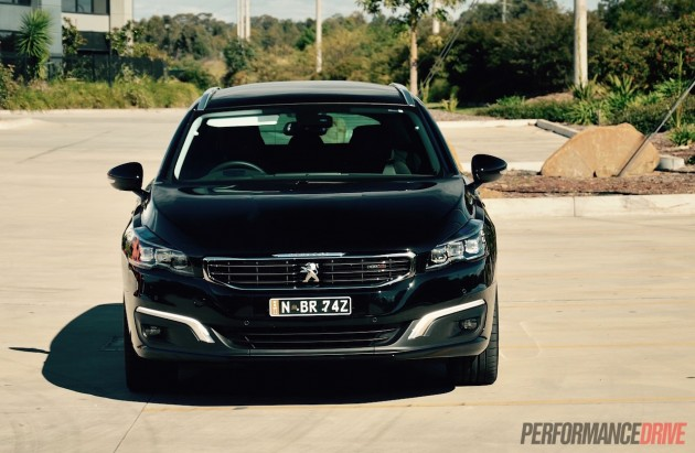 2015 Peugeot 508 GT Touring-headlights