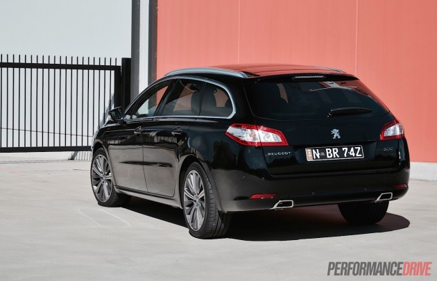 2015 Peugeot 508 GT Touring-rear