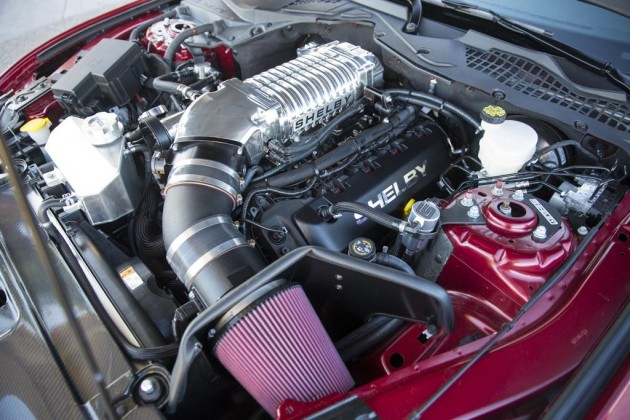 2015 Shelby Mustang Super Snake-engine