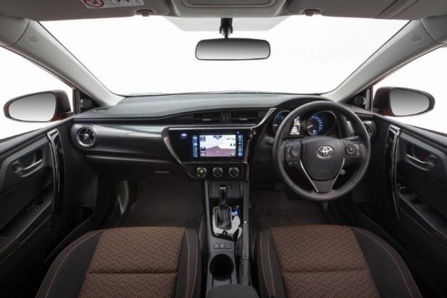 2015 Toyota Corolla SX-interior