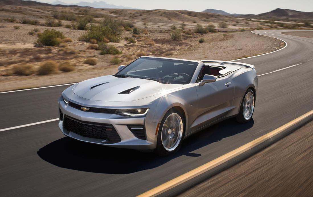 2016 Chevrolet Camaro Convertible Leaked Online Debuts