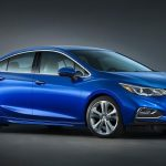 2016 Chevrolet Cruze unveiled; sporty new design, 113kg lighter