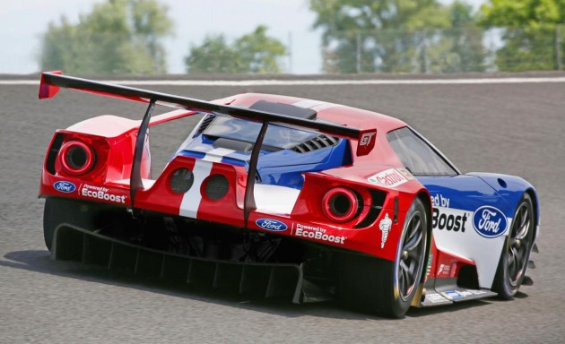 2016 Ford GT LM GTE Pro-rear