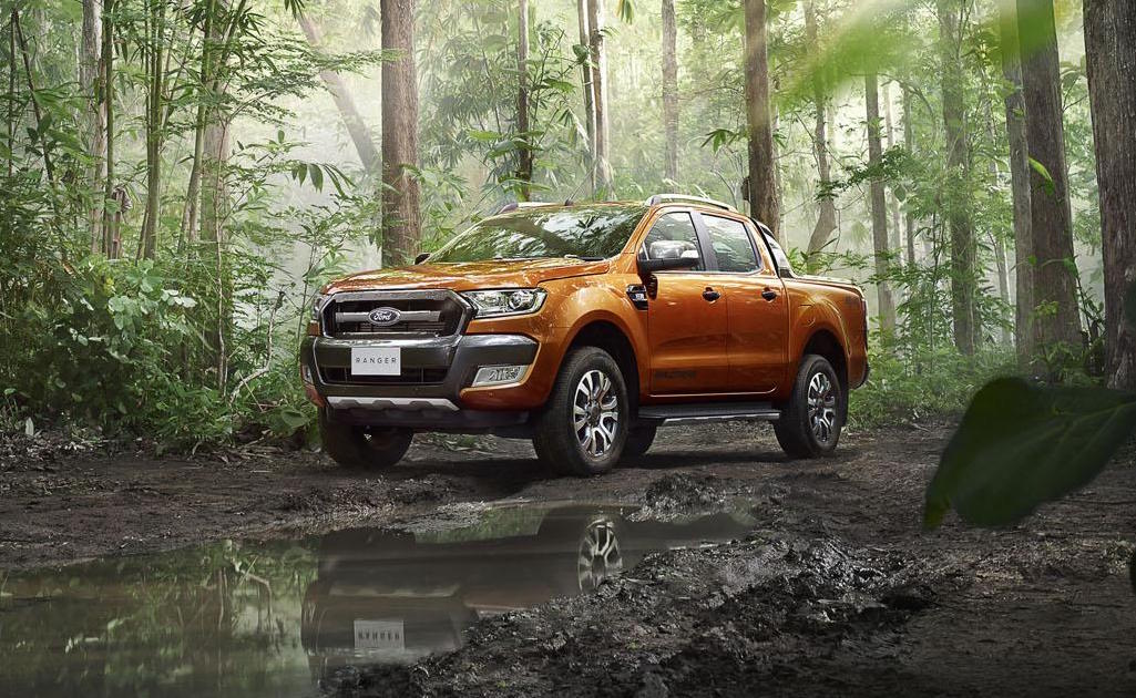 new 2015 ford ranger wildtrak unveiled performancedrive. Black Bedroom Furniture Sets. Home Design Ideas
