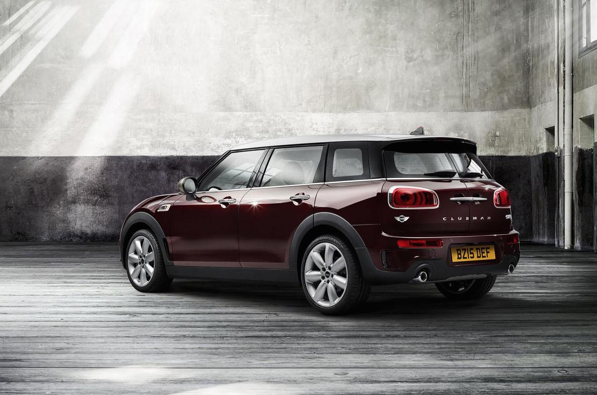 2016 mini clubman makes its debut gets first 8spd auto option performancedrive. Black Bedroom Furniture Sets. Home Design Ideas