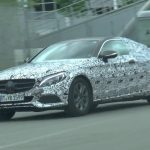 Video: 2016 Mercedes-Benz C-Class Coupe spotted with new design