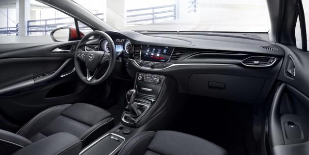 2016 Opel Astra-interior