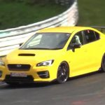 Video: Mysterious Subaru WRX STI prototype spotted on the 'Ring