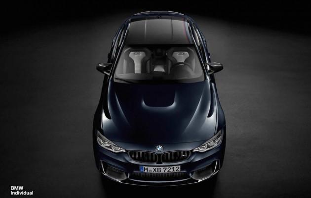 BMW M4 Individual 25th anniversary
