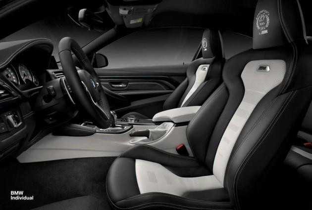 BMW M4 Individual 25th anniversary-interior