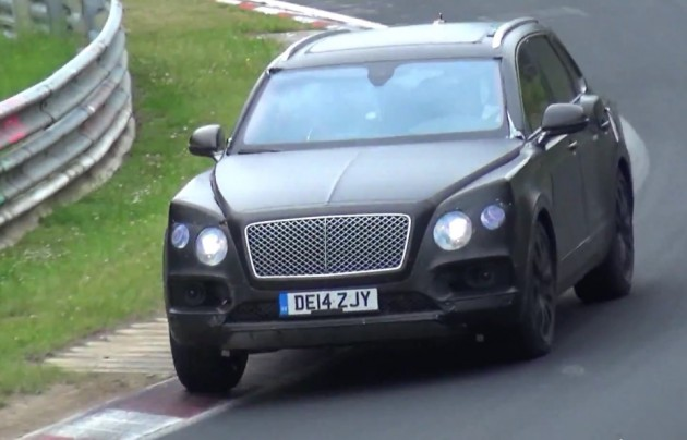 Bentley Bentayga prototype