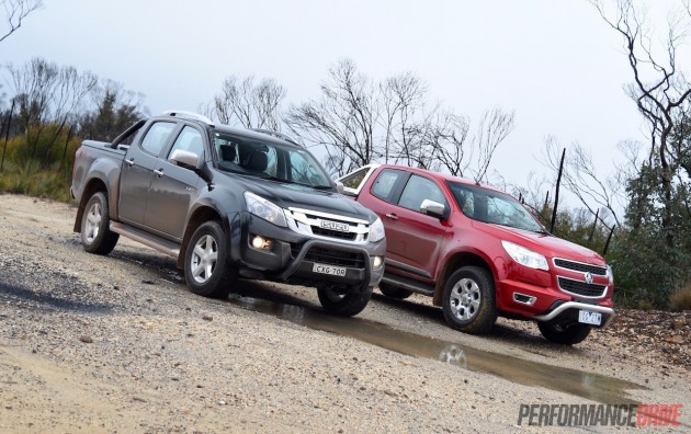 Holden Colorado vs Isuzu D-Max