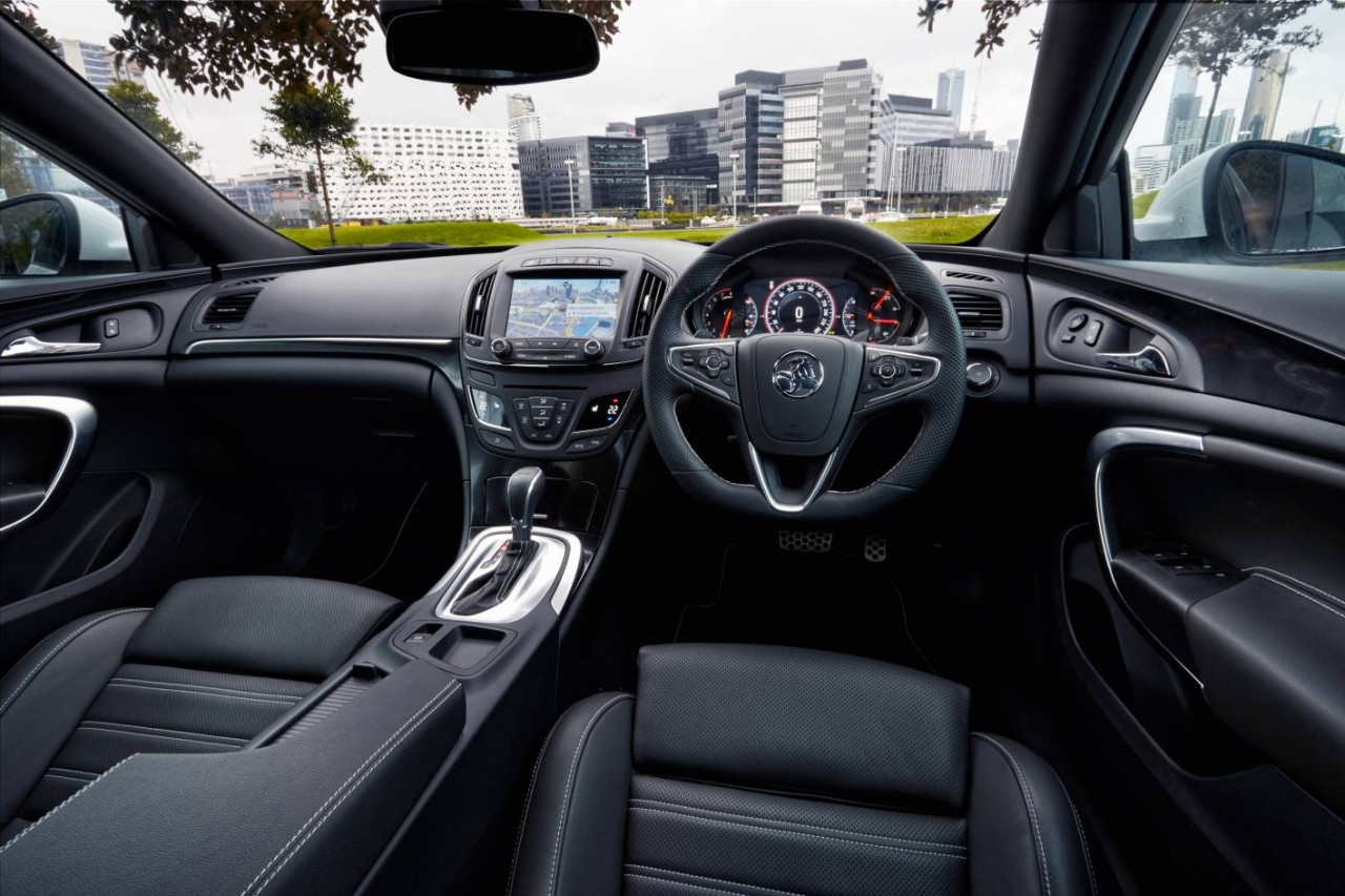 Holden insignia vxr now on sale in australia from 51 990 for Interior opel insignia 2015