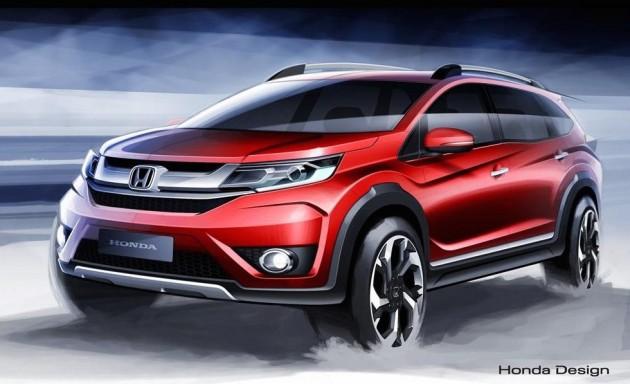 Honda BR-V sketch