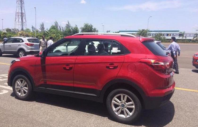 Hyundai Creta Spotted New Based Compact Suv Performancedrive