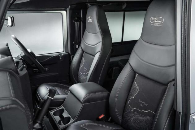 Land Rover Defender 2000000 edition-seats