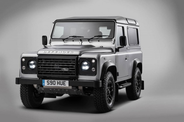 Land Rover Defender 2000000 edition-silver