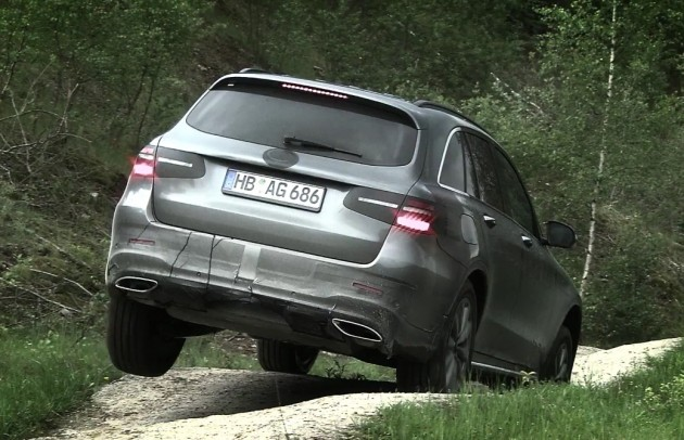 Mercedes-Benz GLC-Class prototype