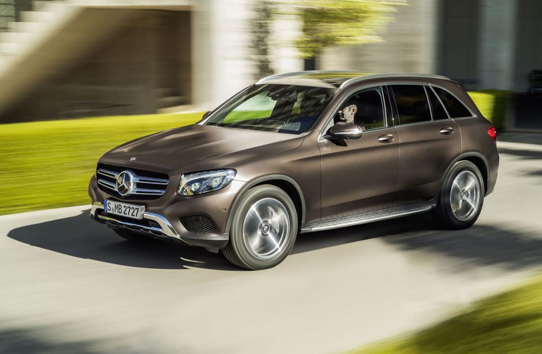 Mercedes benz glc unveiled on sale in australia in for Brown mercedes benz