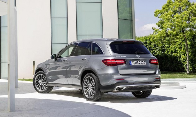 Mercedes-Benz GLC-rear