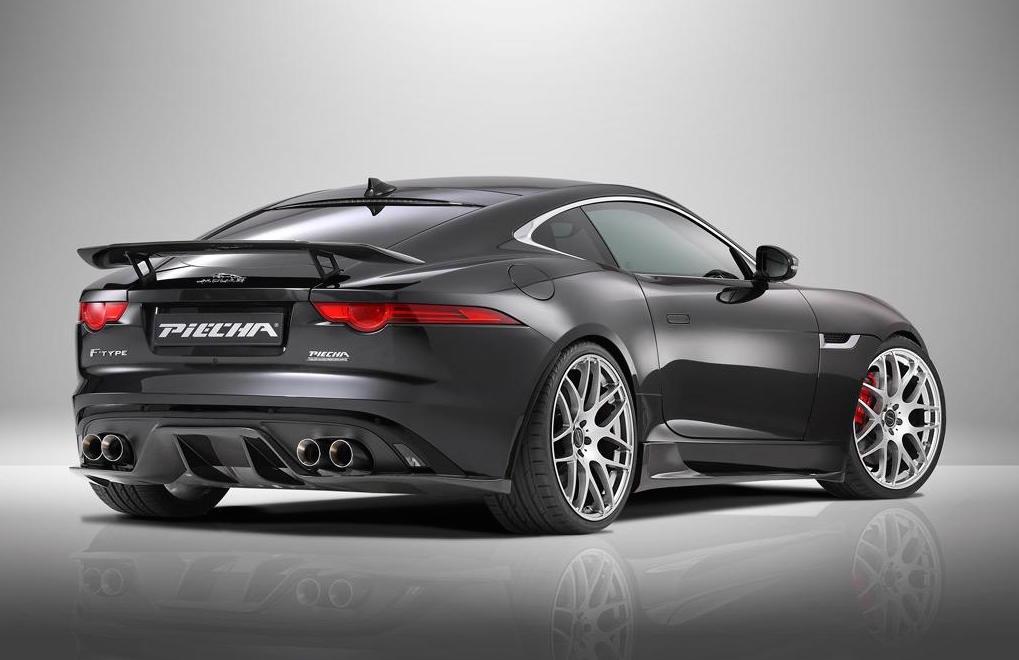 Piecha Design creates styling kit for Jaguar FType R Coupe