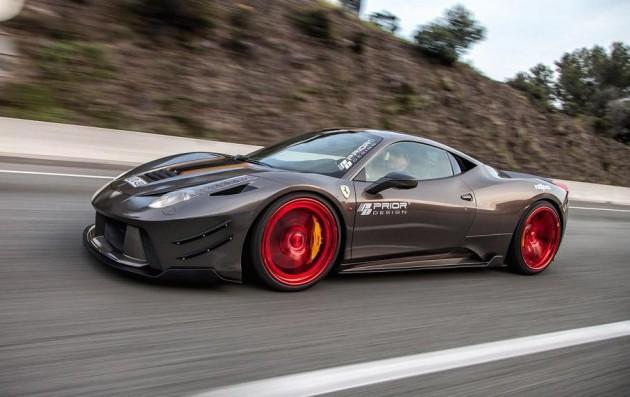 Prior Design Ferrari 458