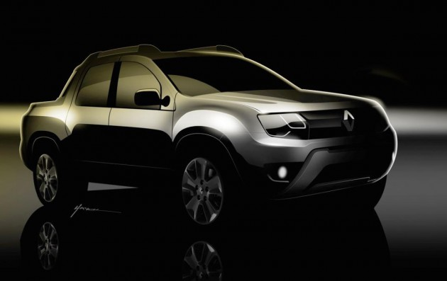 Renault Oroch preview