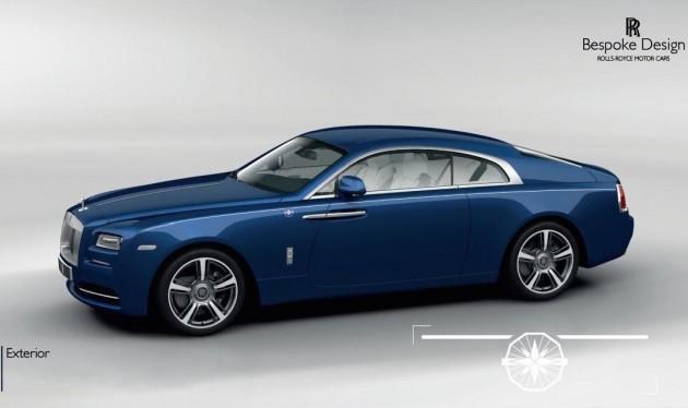 Rolls-Royce Wraith Porto Cervo-blue