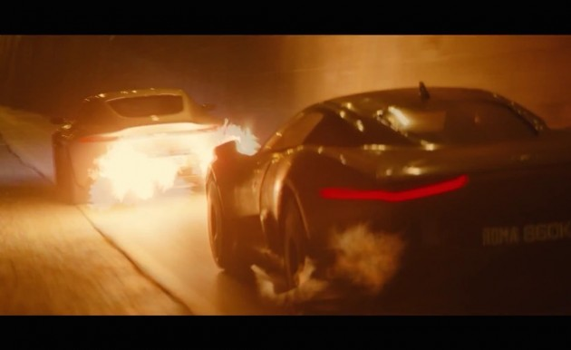 SPECTRE trailer-Jaguar and Aston Martin