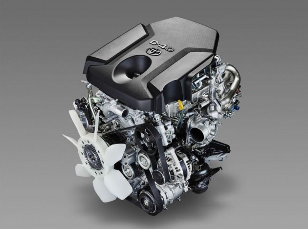 Toyota 1GD-FTV 2.8 engine