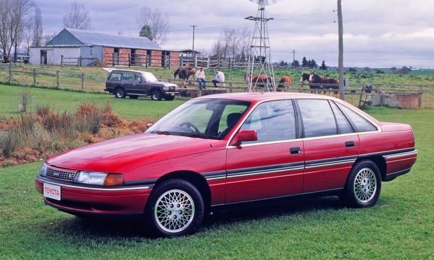 Toyota Lexcen-red