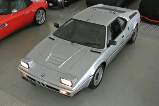 1981 BMW M1 Polaris Silver