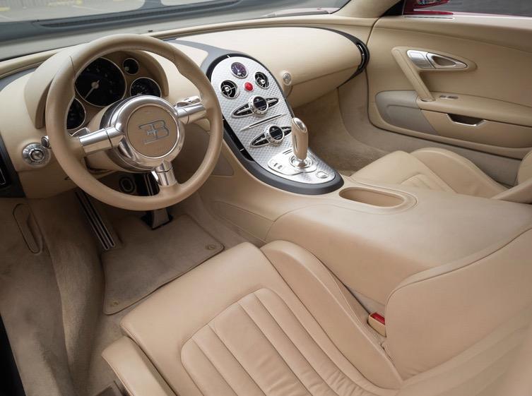 2006 Bugatti Veyron 001-interior  