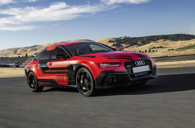 2015 Audi RS 7 piloted concept