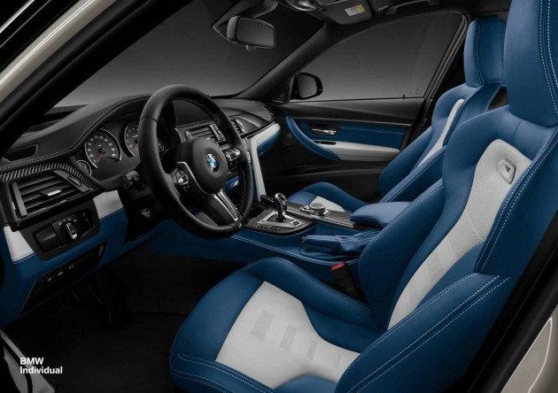 2015 BMW Individual M3-interior