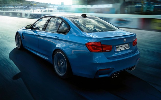 2015 BMW M3 LCI-rear